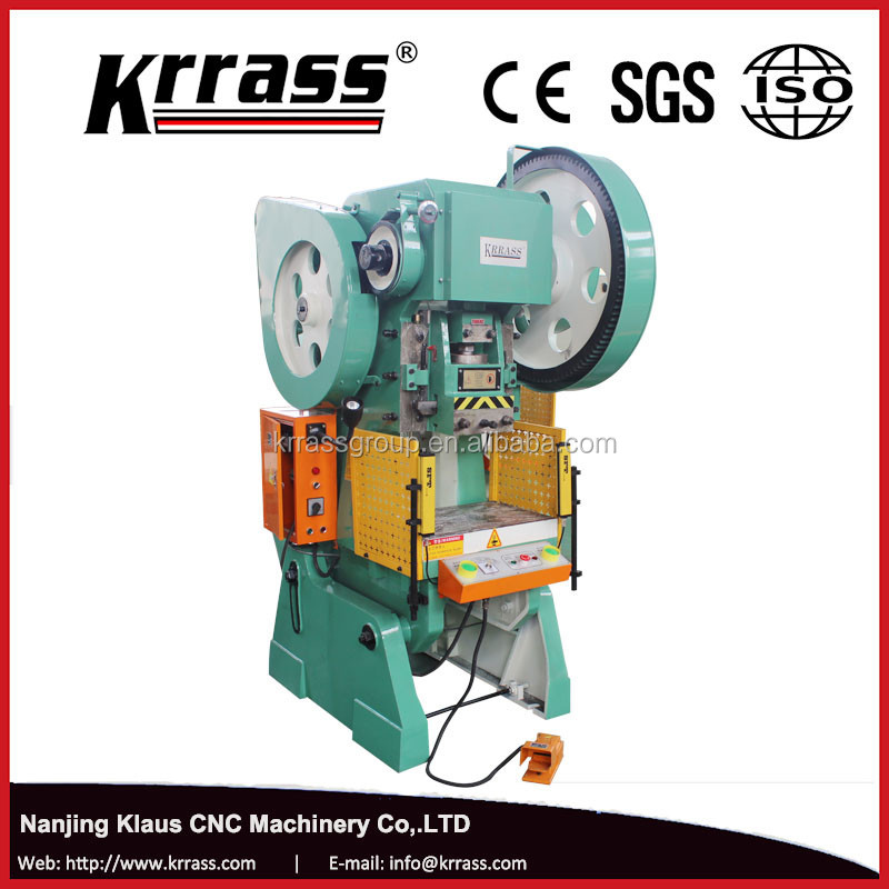 Continuous curtain hole punch machine , power press machine rates for sheet metal holes