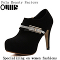 New fashion crystal high heel platform ankle boots PC4046