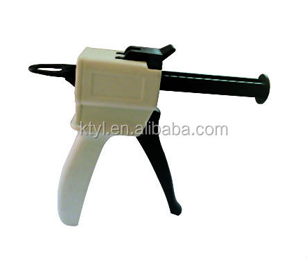 Dental Materials/Dental Silicone Rubber Dispensing/dispenser mixing Gun