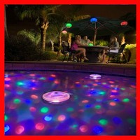 NEW color changing garden swimming Pool RGB LED floating ball light, floating light