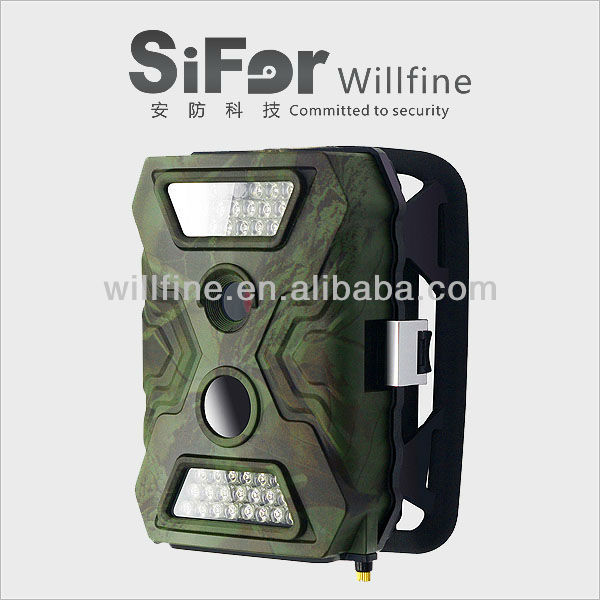 12 MP night vision 20 meters PIR motion detection IP54 waterproof outback GSM/MMS 720P hunting camera