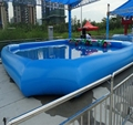 HOLA blue inflatable pool/pool inflatable/pvc swimming pools
