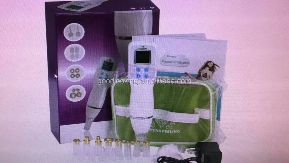 portable handheld microdermabrasion skin tightening diamond dermabrasion mini beauty machine for home use