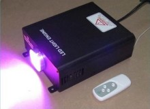 super brightness LED fiber optic illuminator,LED fiber optic star light with DMX function