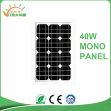 40W Chinese cheap solar panel solar cell for sale