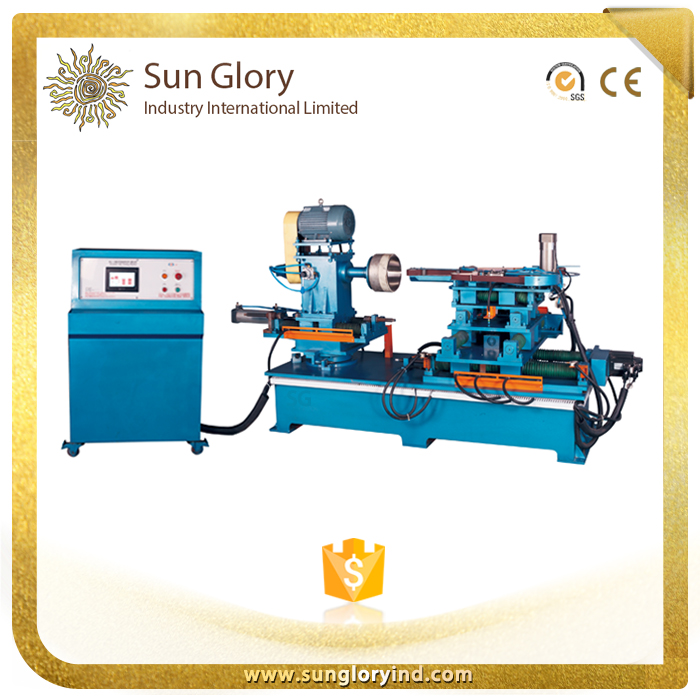600*600 Big volume cookware horizontal grinding finish machine