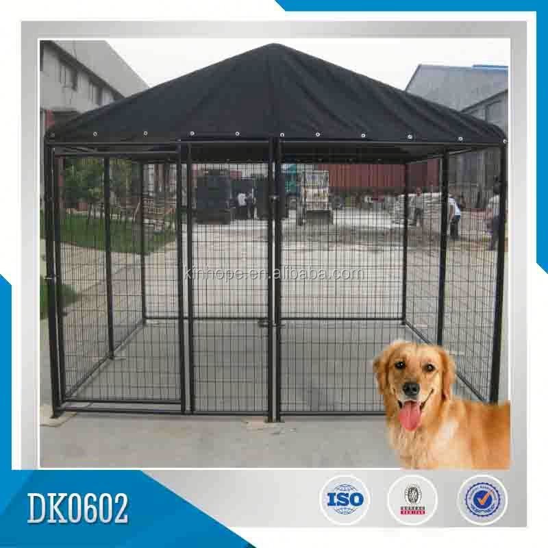 OEM Or ODM Large Galvanized Dog Kennel In Outside