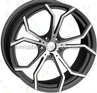 wheel is used aluminum alloy 6061 with 20inch forget wheels.