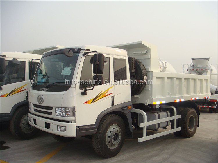 FAW 15 ton right hand drive dump truck