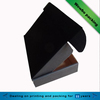 Black custom printed corrugated cardboard carton box for shipping & packing