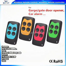 home automation plc security products universal RF remote control portable garage