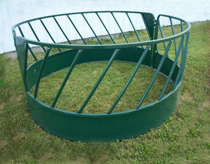 Cattle /Horse Hay Feeder Galvanized or Powder Coated on Sale