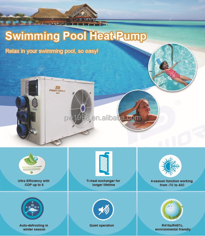 Household Hot Tub Heat Pump For Jacuzzi Bathtub Water