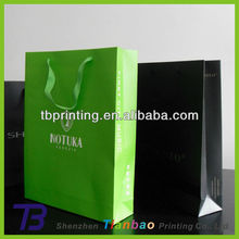 Gift bag lime green paper bags