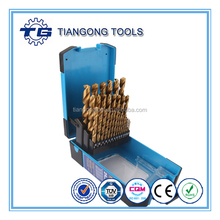 DIN338 fully ground M35 HSS drill bit index