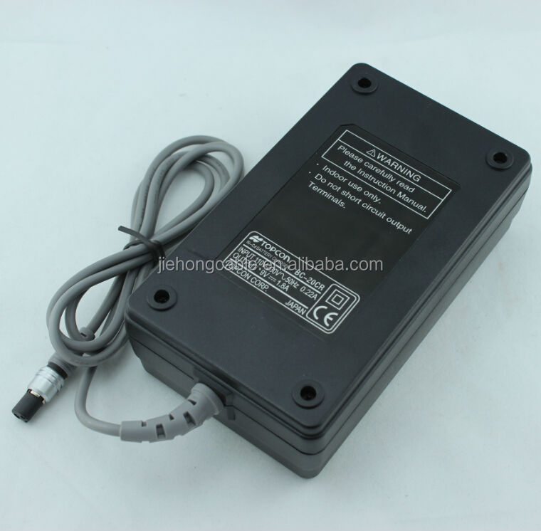 battery charger BC-20CR for total station Topcon GTS-300/700 Series