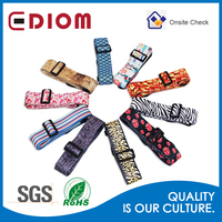 Factory price high quanlity colorful China beaded custom guitar strap