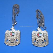 Falcon Necklace Tags With Crystal, UAE National Day Items