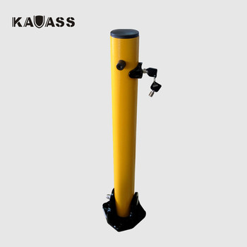 Car Traffic Parking Carbon Steel fold down parking post