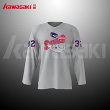 Team set funny ice hockey jerseys china