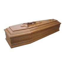 JS-IT290 Solid wood coffin for the dead