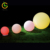 Foshan supplier 2019 hotel rechargeable outdoor waterproof color changing small christmas rgb solar led ball