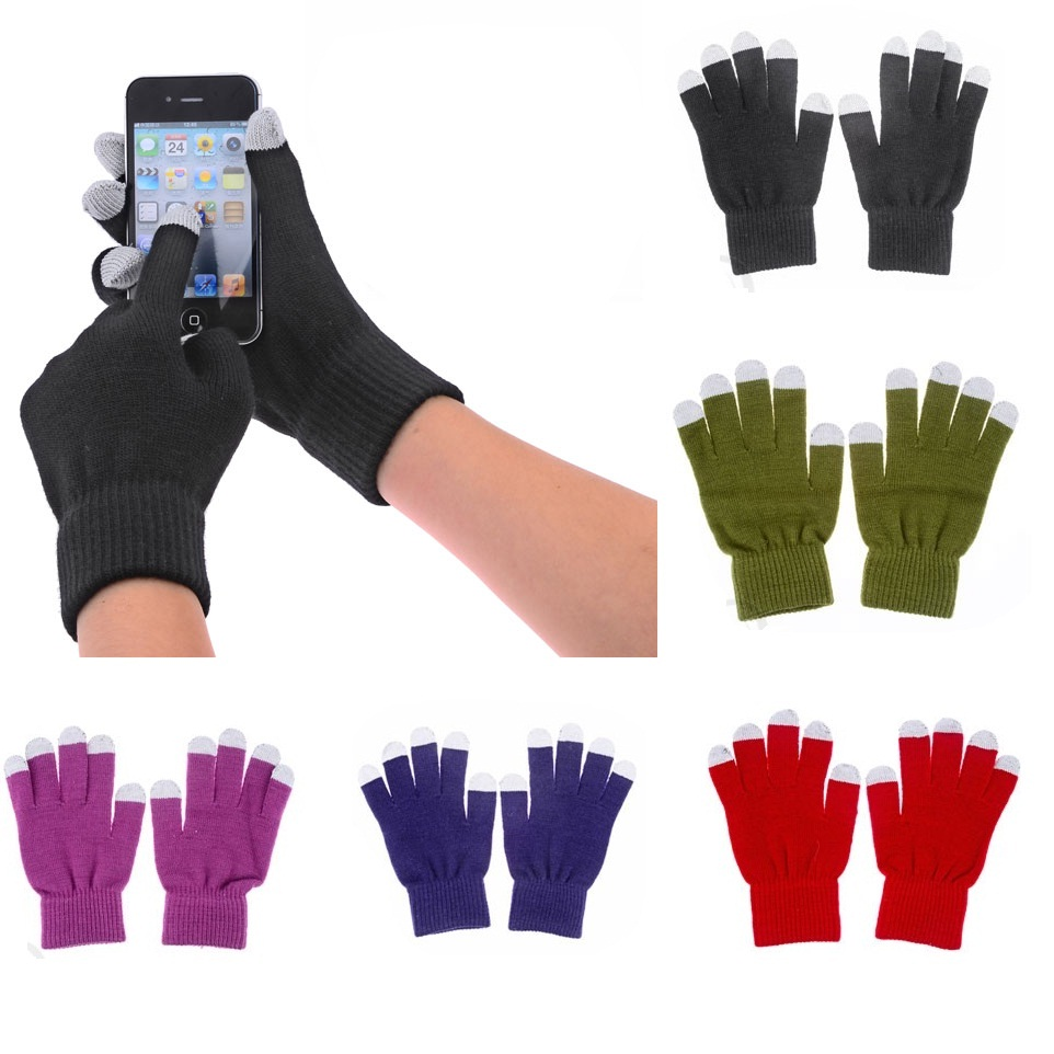 Youch Warm Winter Mittens Smart Phone Touch Gloves for promotion