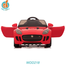New Product Licensed Jaguar kids ride on car 6v battery powered with CE
