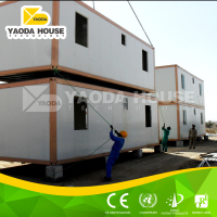 China new design light steel frame cheap prefab homes