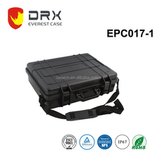 Anti-shock hard waterproof plastic case for equipments and instruments