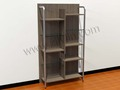 Melamine Book Shelf, Modern Book Rack, Classic Wooden BookCase
