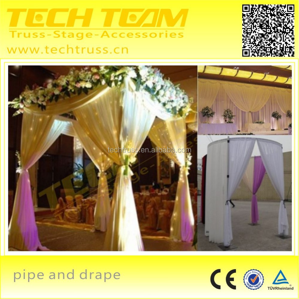 pipe and drape wedding backdrop pipe and drape used pipe and drape for sale buy high quality. Black Bedroom Furniture Sets. Home Design Ideas