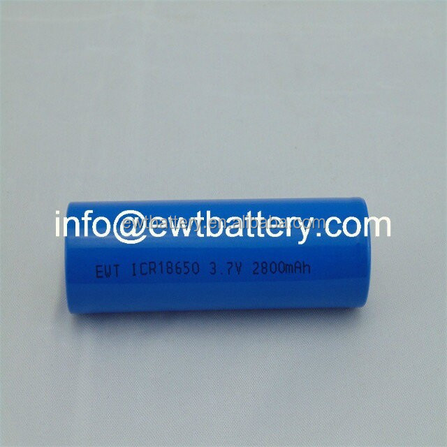 Lithium battery cell 18650 3.7v 3000mah torch shape rechargeable batteries for Flashlight battery use