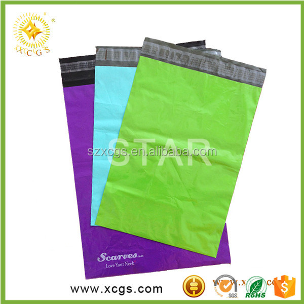 Factory Wholesaele Poly Shipping Bag for Clothing / Air Express Plastic Custom Mailing Bags