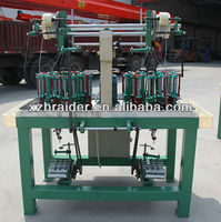 24 carriers braiding rope making machine
