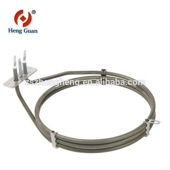Electric grill heating element