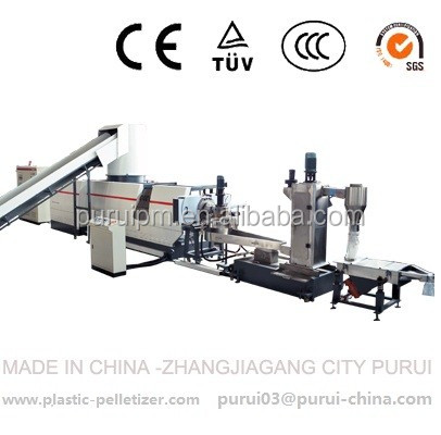 Plastic recycling granulator for waste plastic