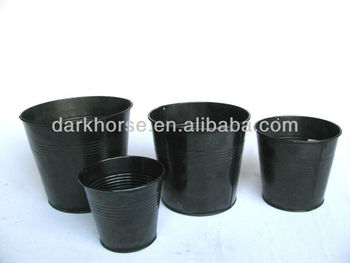 Fancy metal flower pot buy flower pot fancy flower pot for Fancy flower pots