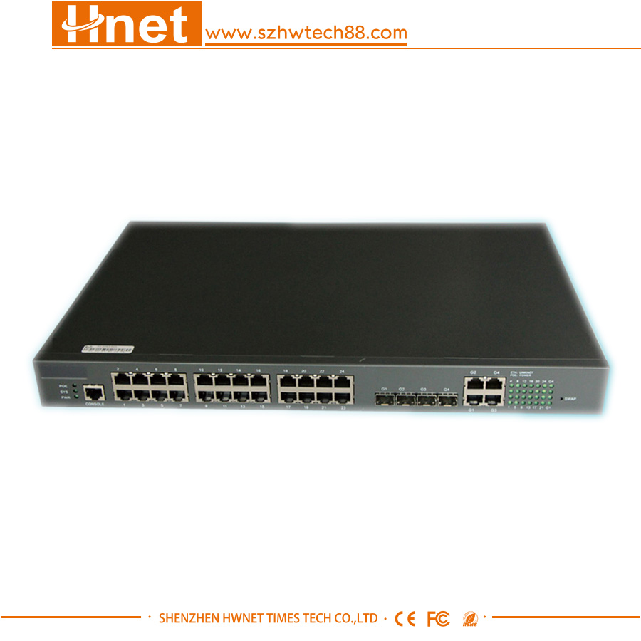 24 Port RJ45 Fast Ethernet Gigabit Network Switch Desktop Ethernet Switch