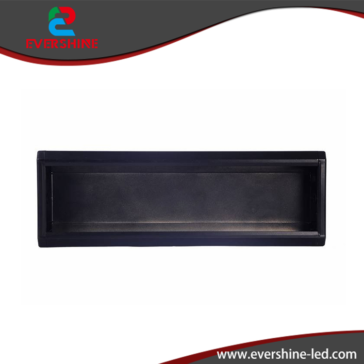 China black 115x43 mm <strong>aluminium</strong> frame for small sqacing led display