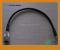 RF Cable Jumper RG58 cable with N female crimp to SMA male crimp connetor