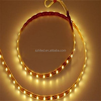 Double row smd 2835 flex led strip warm white cool white dual color led