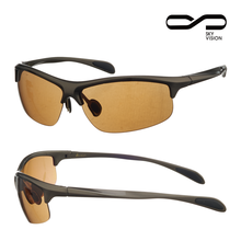 Fashionable sports eyewear bicycle sunglasses with optical insert lens