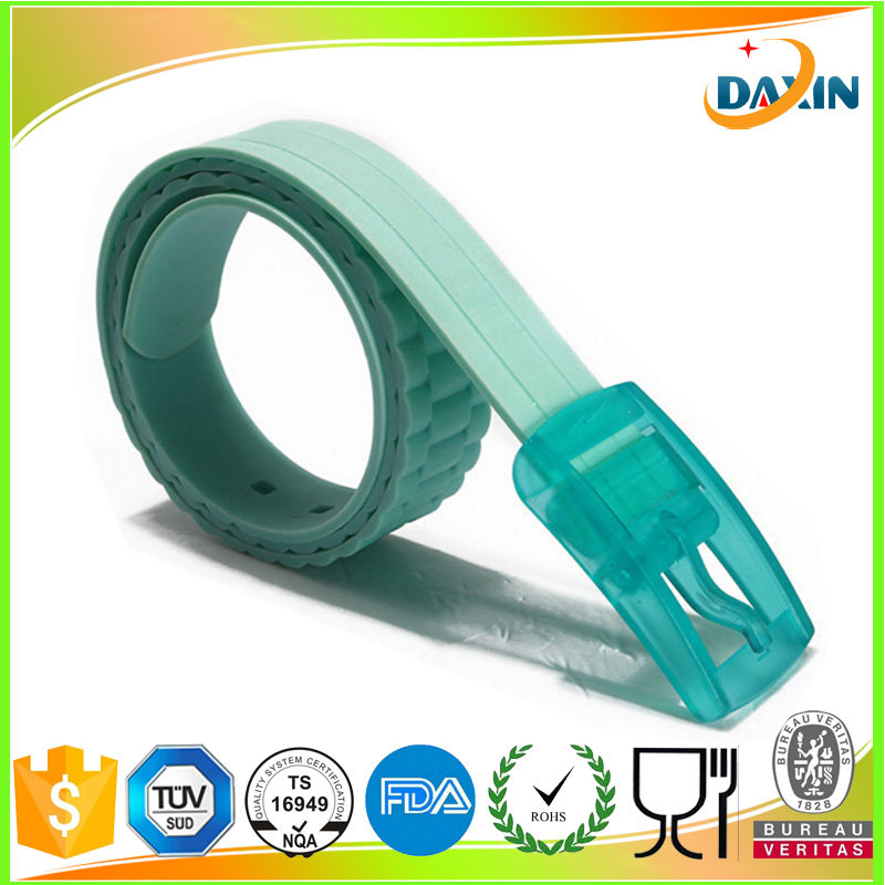 Plastic Buckle Wavy Jelly Silicone Suit Fruit Casual Belt