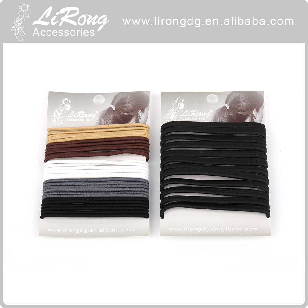 High Quality Black Wide Nylon Rubber Bands Factory Cheap Price
