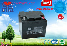 lead acid 12v38ah battery maintenace free storage battery for electric UPS