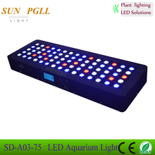 SAIDI 225W Programmable LED Aquarium Lighting Sunrise Sunset Simulation Coral Reef Grow