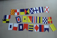 MARINE NAVY Signal Code Bunting String Flag Banner