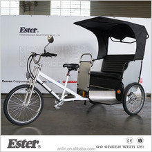 ESTER Unique Pedal Passenger 2016 New Electric Rickshaw Battery
