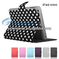 New Arrival Fashion Flip Leather Case For iPad Mini